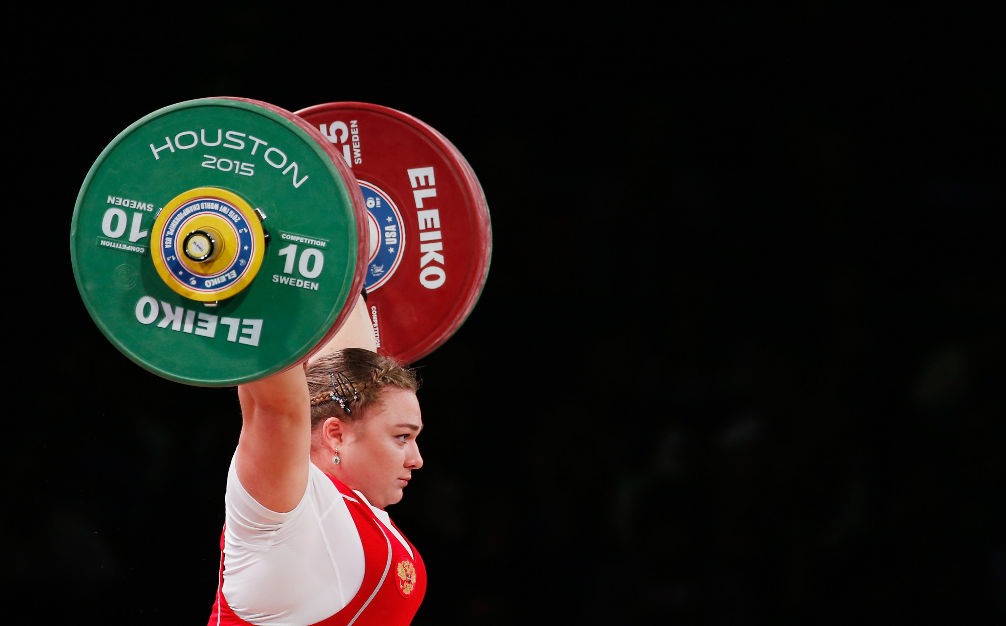 Russia is one of six nations still currently banned by the IWF ©Getty Images