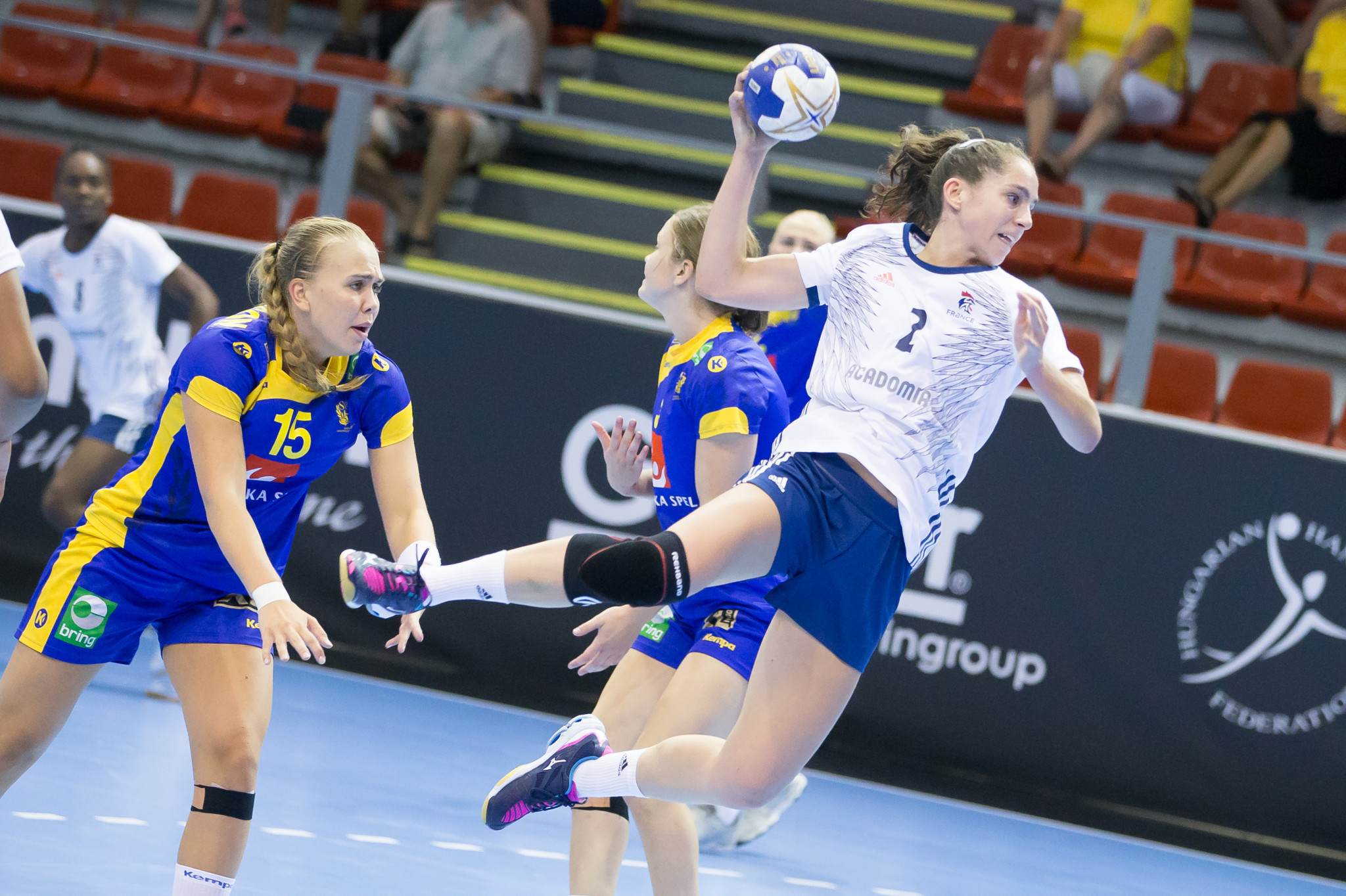 France made it three victories from as many matches ©IHF