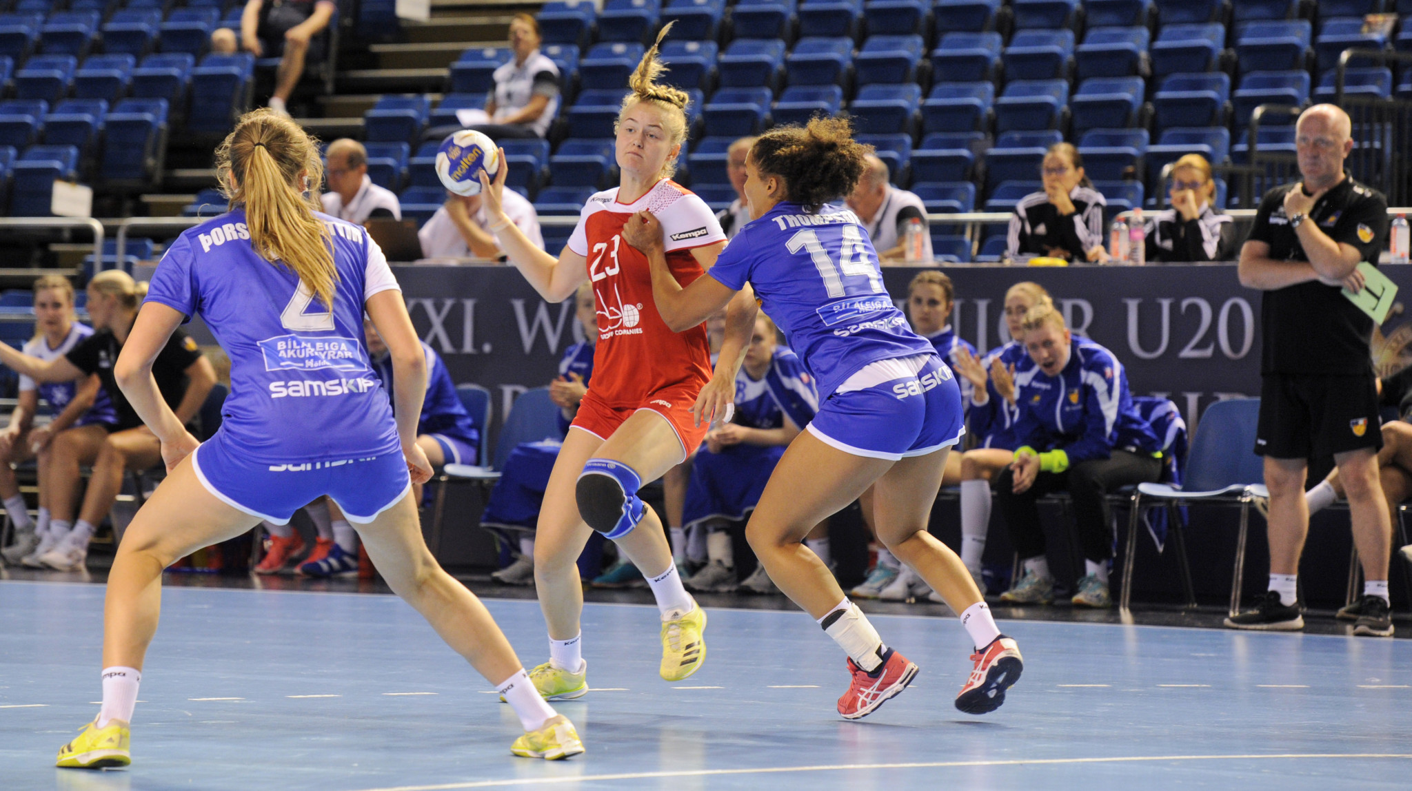 The action continued today in Debrecen ©IHF