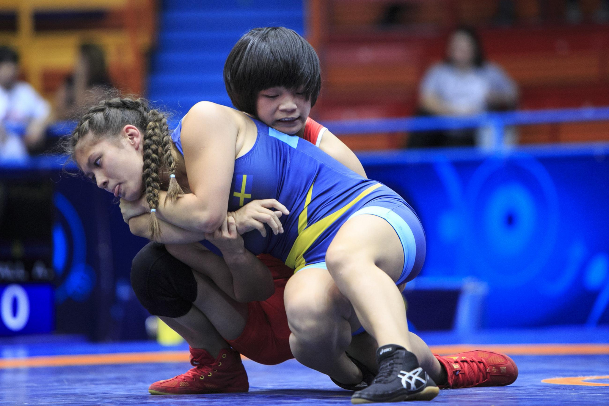Japanese dominance in women's freestyle events at UWW Cadet World Championships
