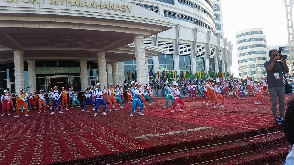 Ashgabat also hosted the OCA General Assembly in 2015 ©ITG