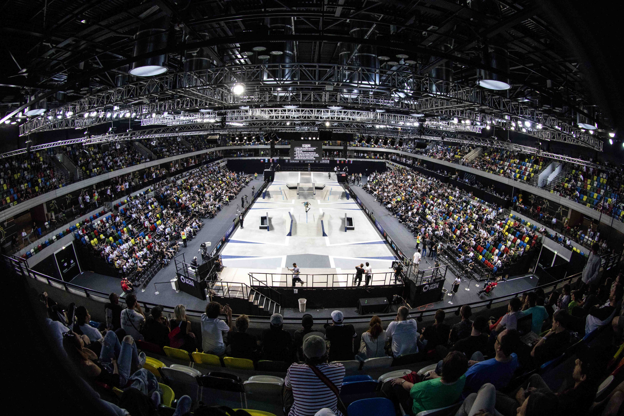 The Los Angeles event is following a competition in London's Copper Box Arena ©StreetLeagueSkateboarding