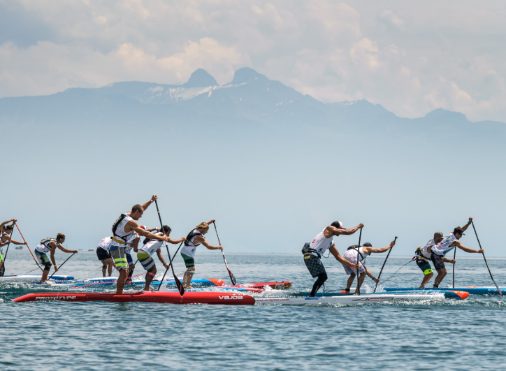 The ISA also claim control over stand-up paddle ©ISA