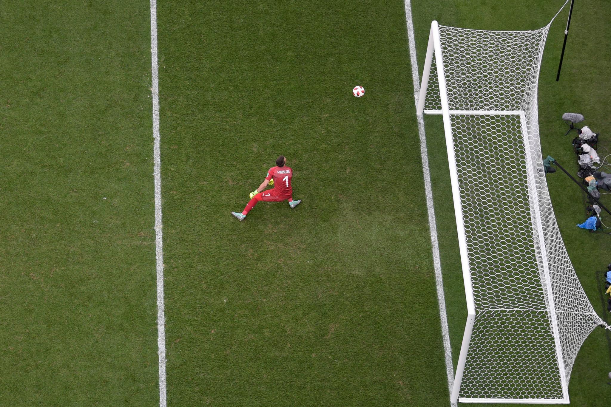 An error by Uruguay goalkeeper Fernando Muslera handed France their second goal ©Getty Images
