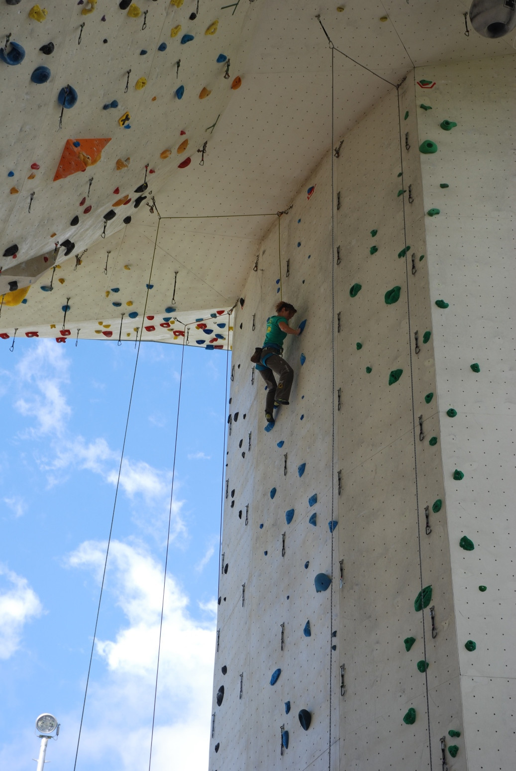 Imst has previously hosted Paraclimbing events ©Kletterzentrum