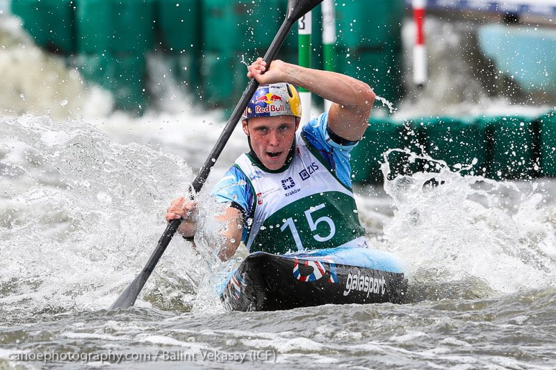 Apel among qualifying leaders at ICF Canoe Slalom World Cup