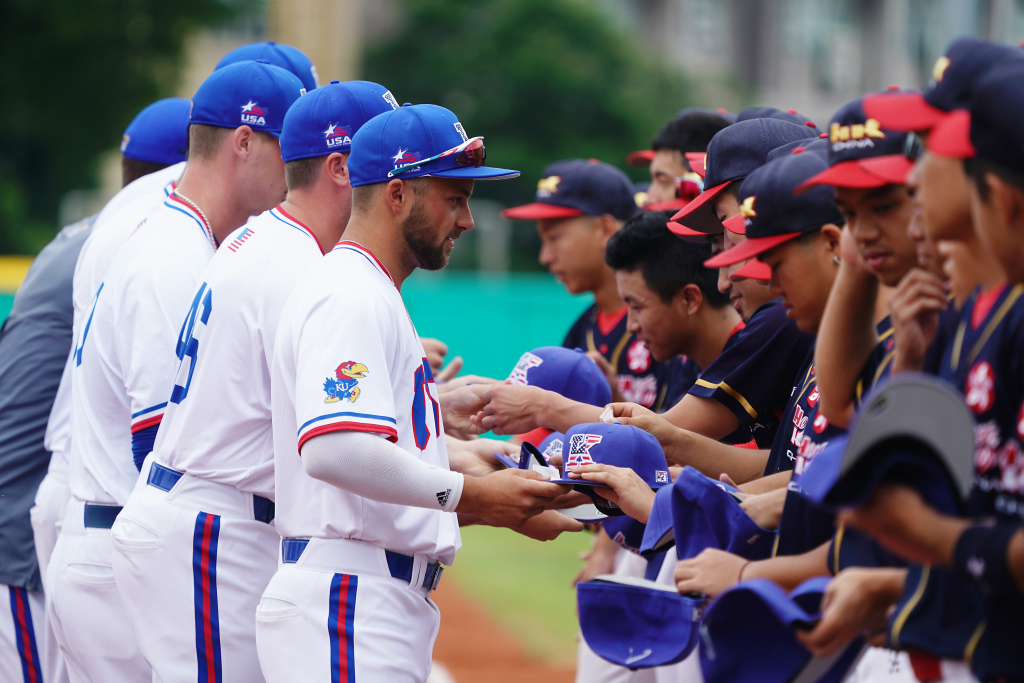 United States overcame Hong Kong in their opening match ©FISU