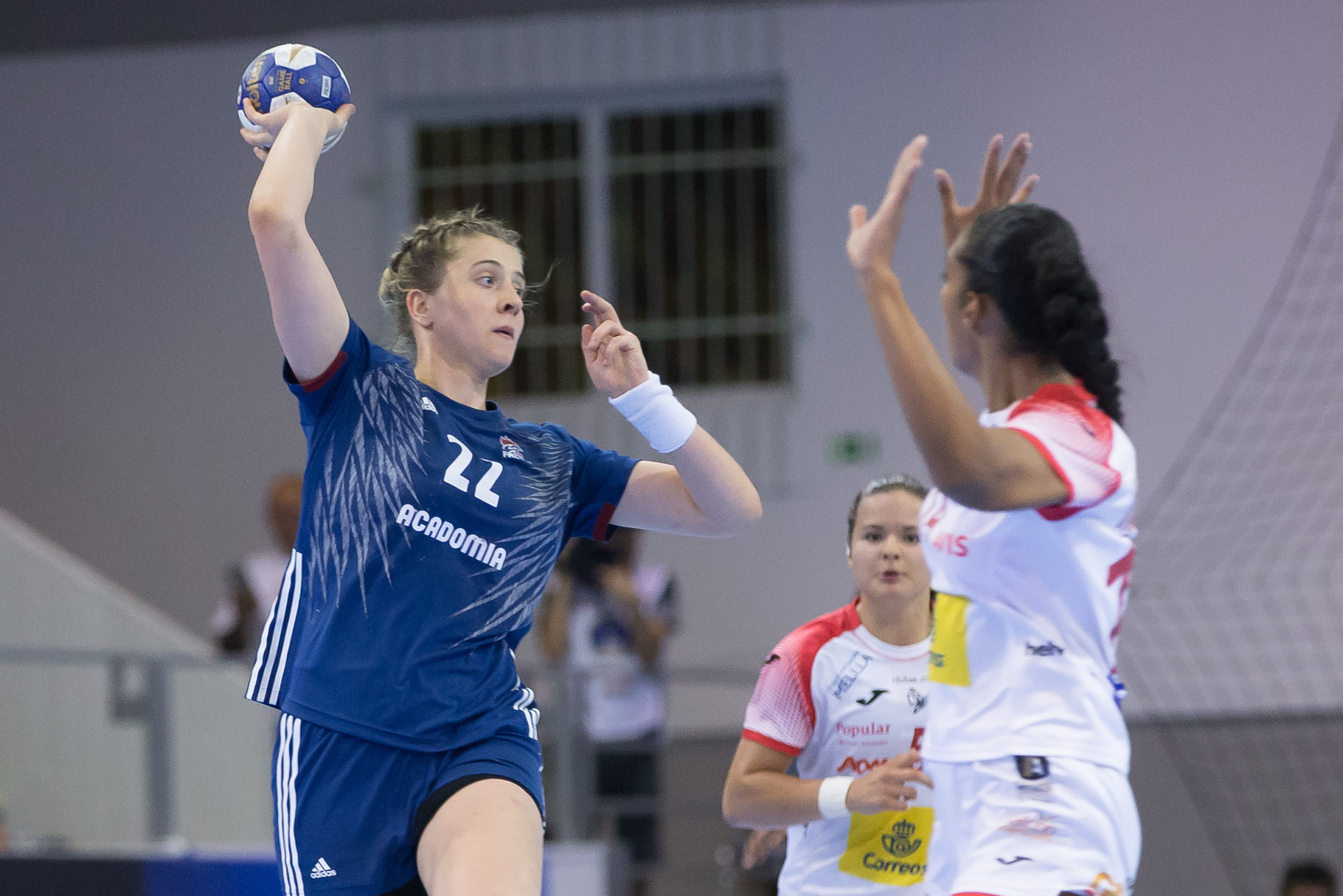 The Women's Junior World Handball Championship in Debrecen is nearing the end of the group phase ©Debrecen 2018