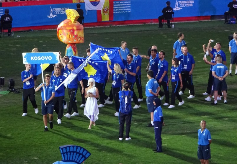 Spanish Government forced Kosovo not to parade national flag at Mediterranean Games Opening Ceremony