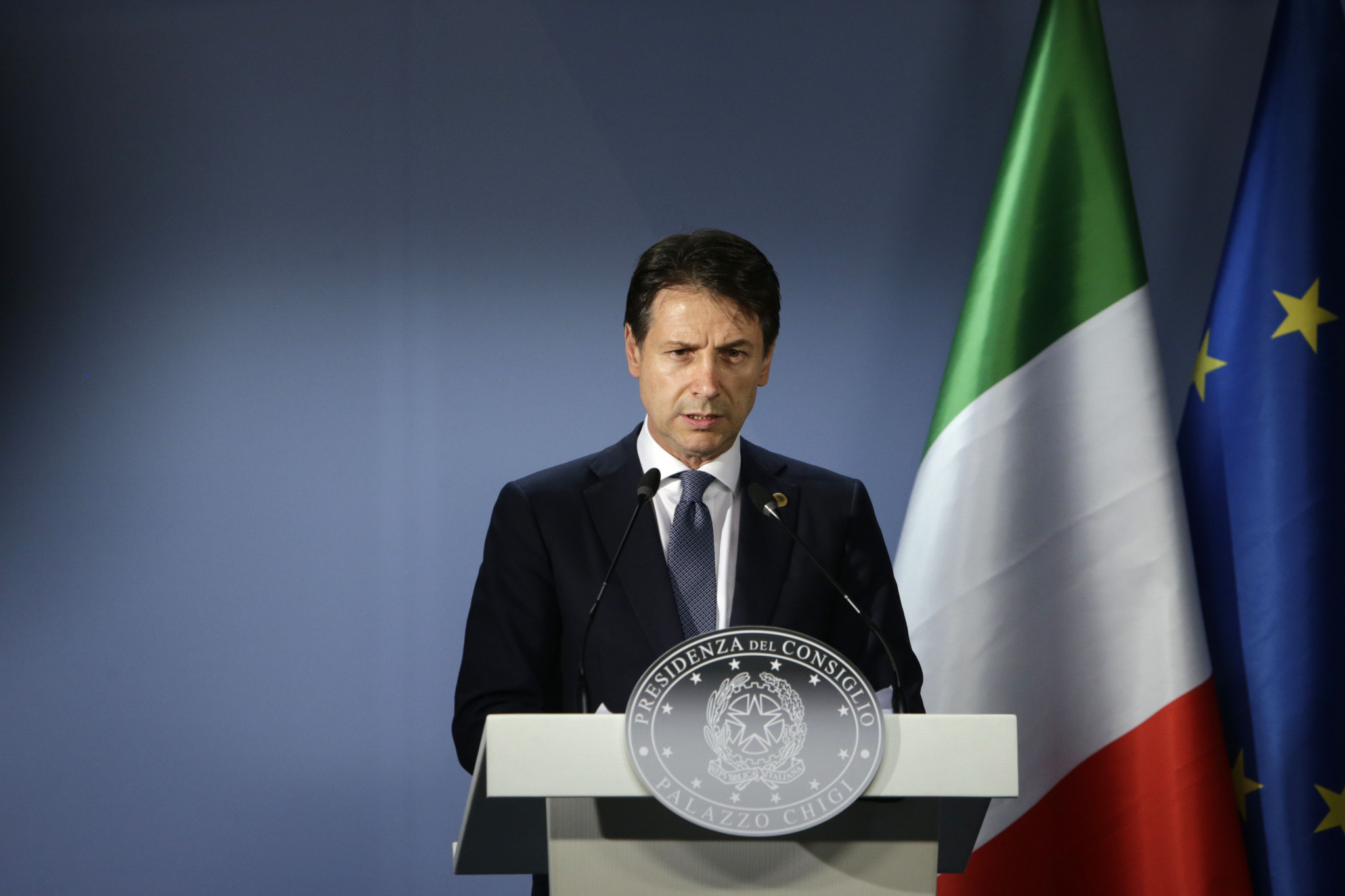 Giuseppe Conte's administration has backed the Italian bid ©Getty Images