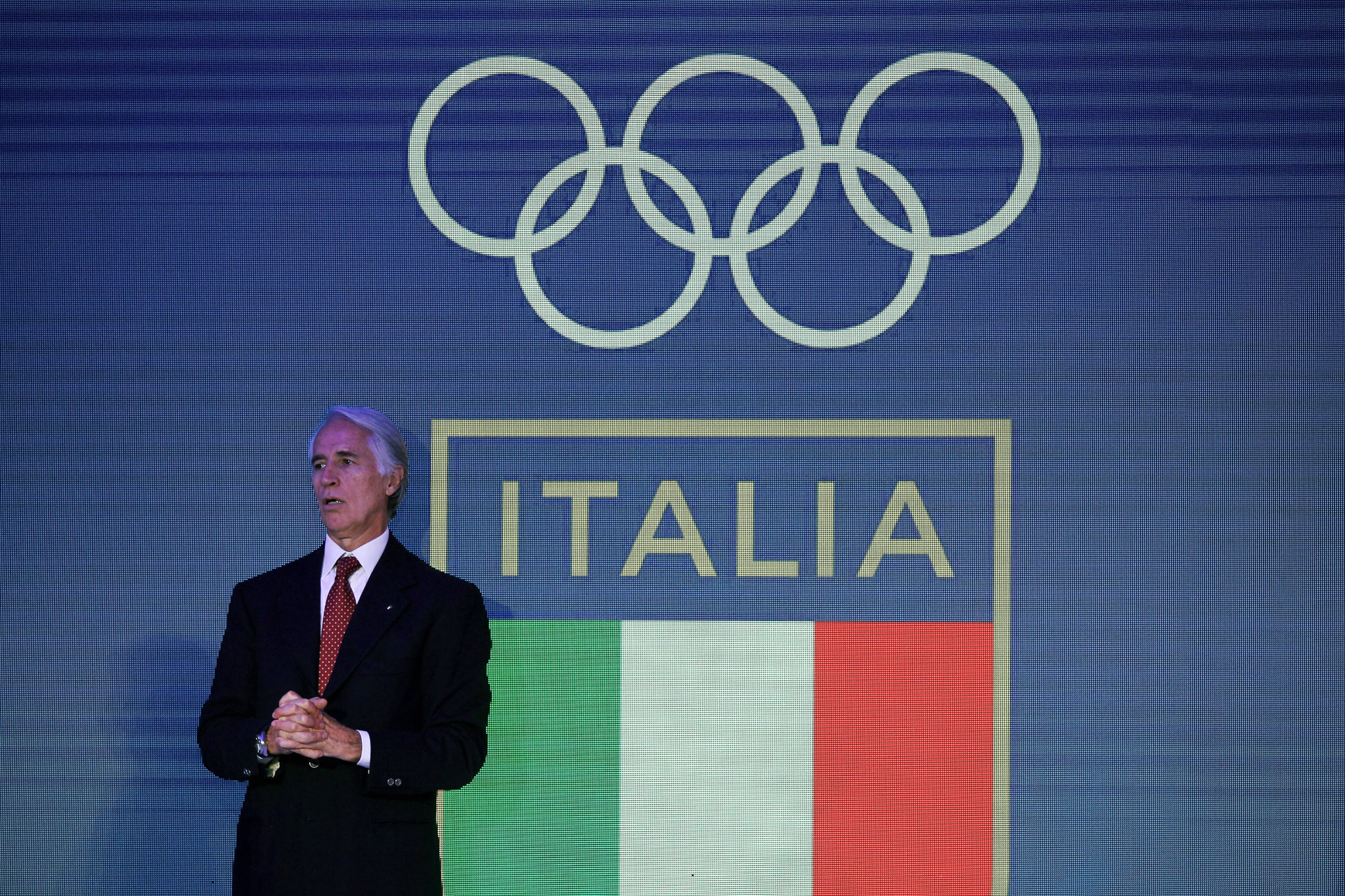 CONI and its President Giovanni Malagò will make a final decision between Milan, Turin and Cortina d'Ampezzo ©Getty Images
