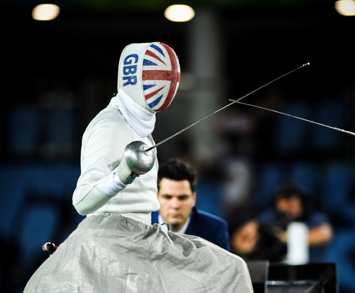 Gilliver wins gold at IWAS Wheelchair Fencing World Cup