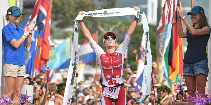 Daniela Ryf is another leading entry on the women's side ©Ironman