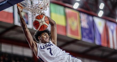 United States thrash Croatia to reach FIBA Under-17 World Cup semi-finals