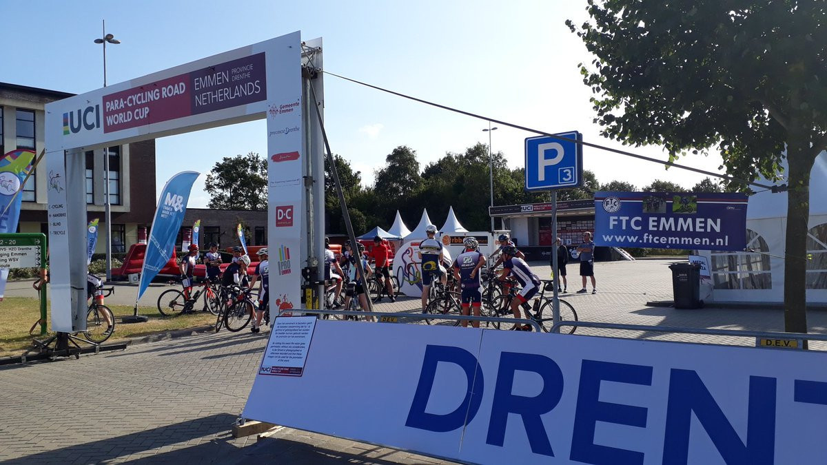 Boyle clinches road race gold at UCI Para-cycling Road World Cup in Emmen