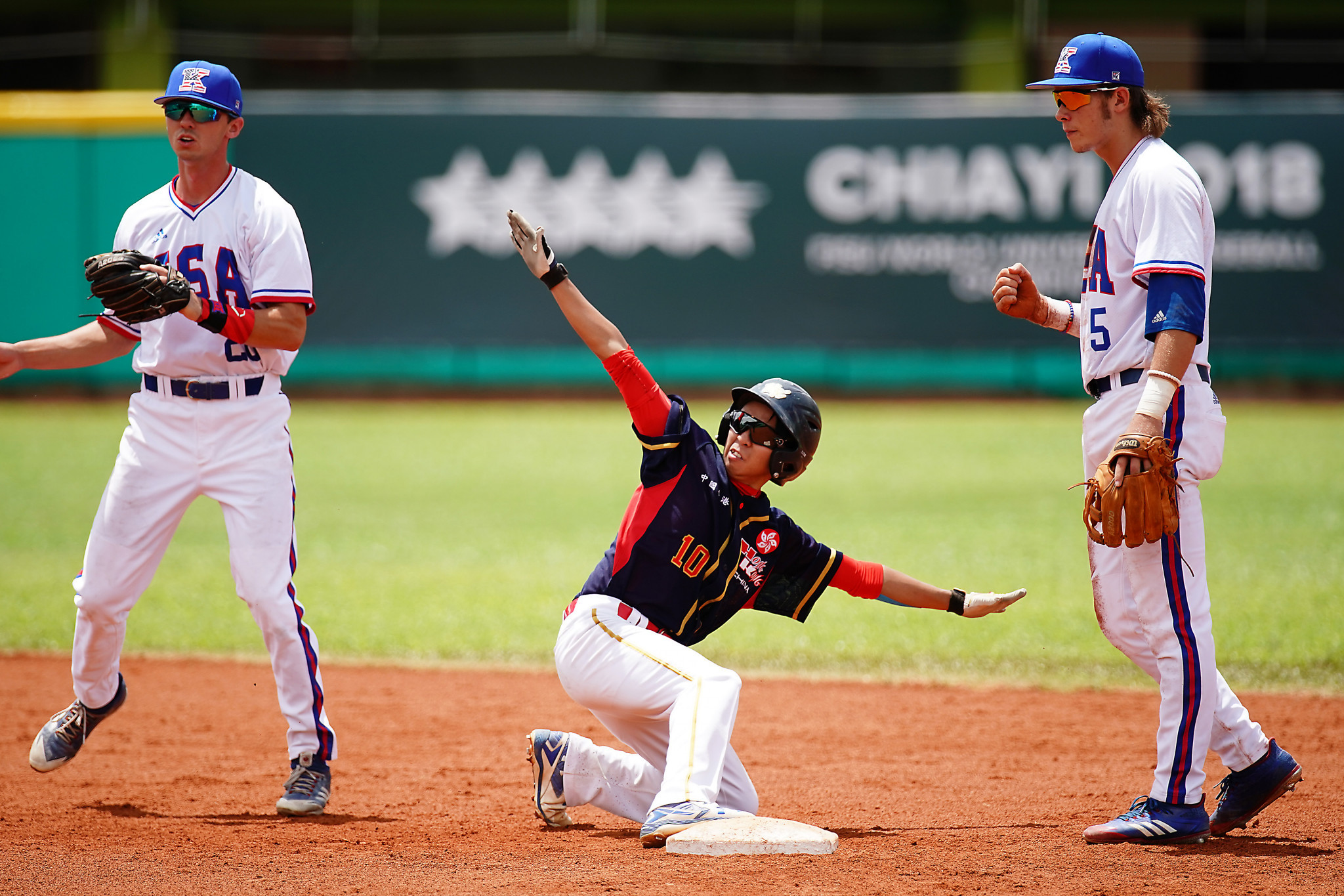 United States are set to resume their quest for glory tomorrow ©FISU