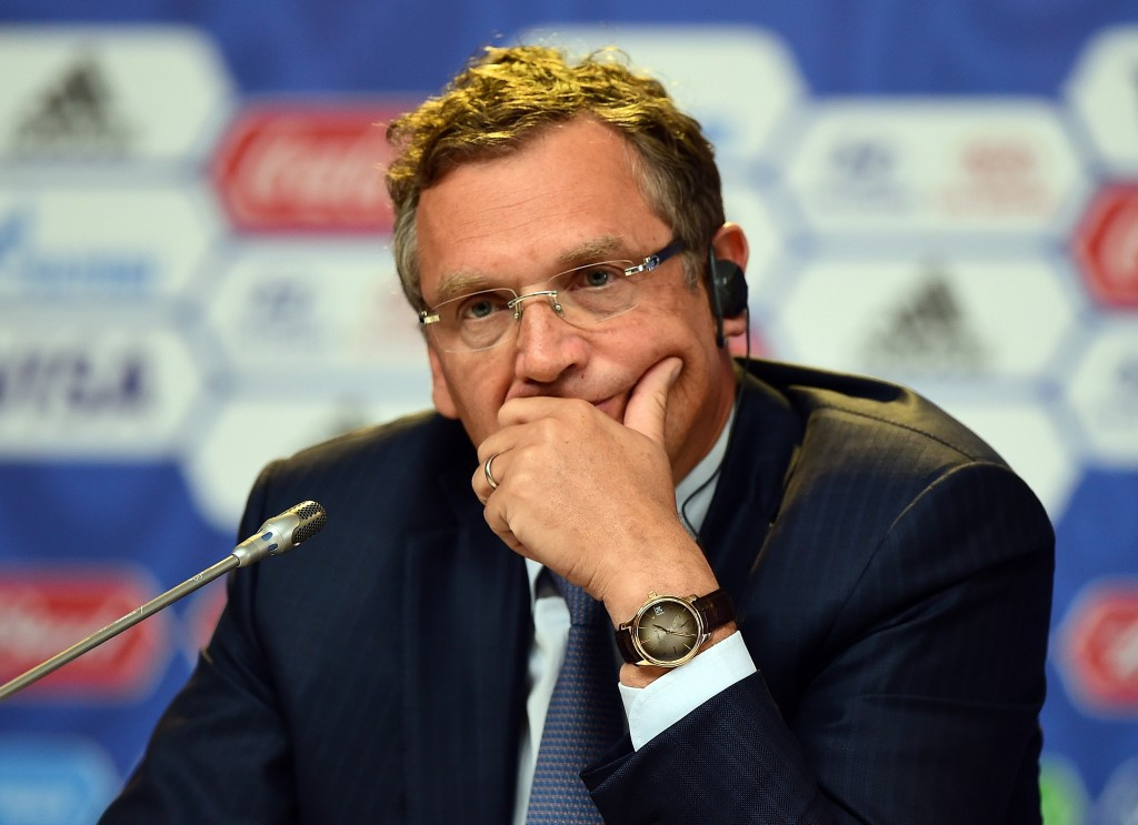 FIFA secretary general Valcke suspended over World Cup ticket allegations
