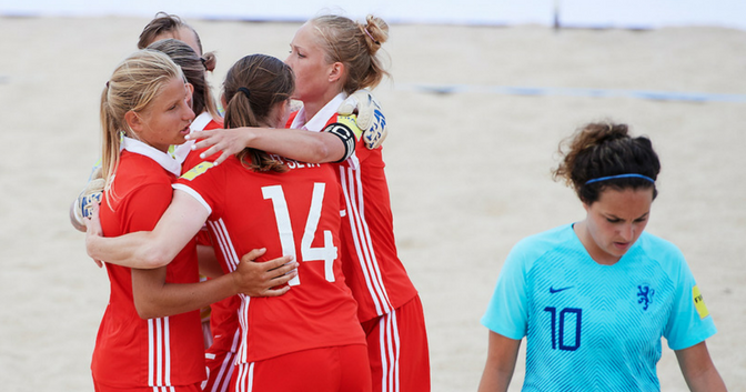 Russia and Spain to meet in Women's Euro Beach Soccer Cup final