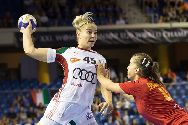 Hosts Hungary maintain perfect record at Women's Junior World Handball Championship