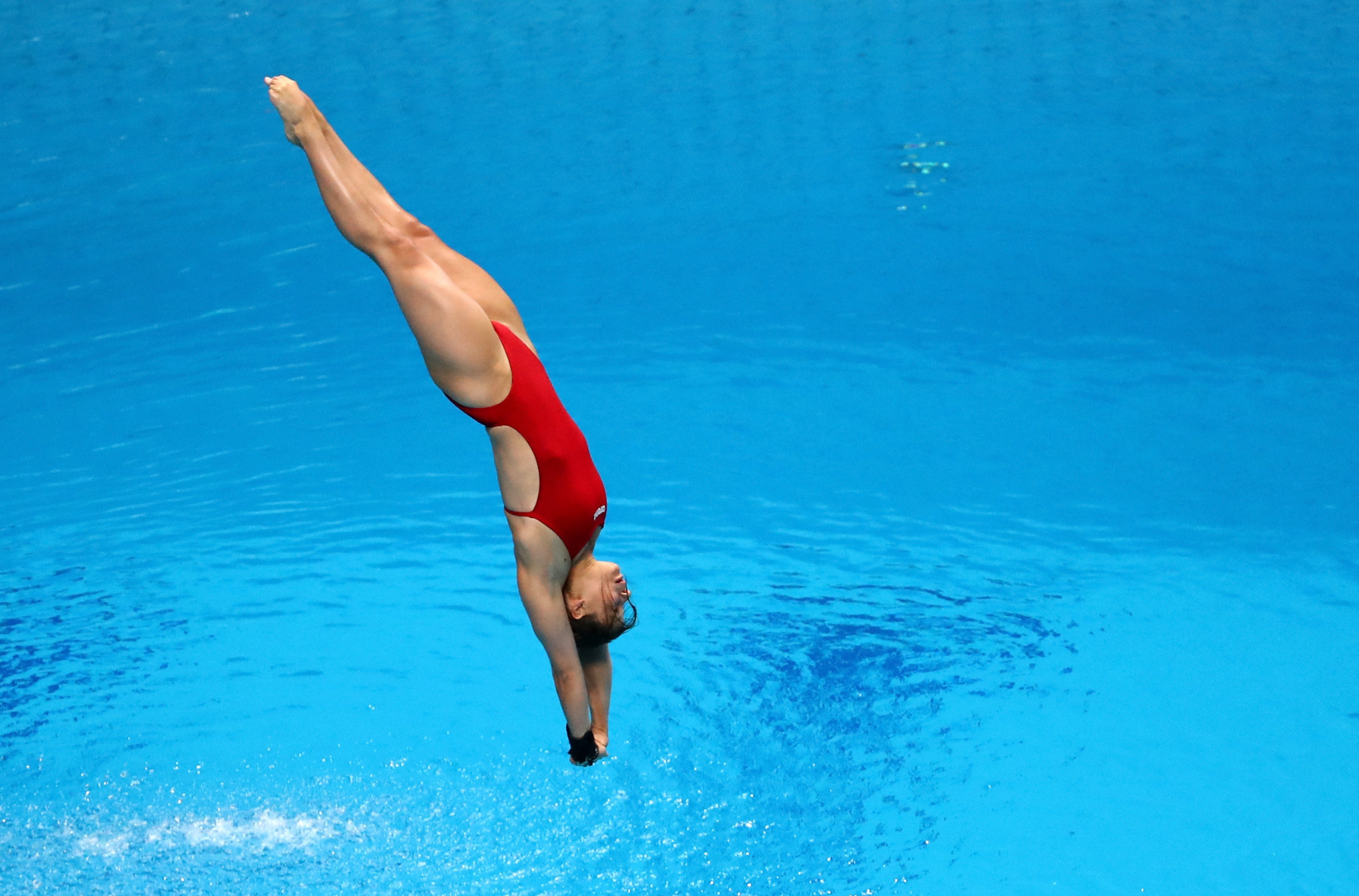 Germany's Maria Kurjo was the runner-up in the women's 10m platform event ©Getty Images