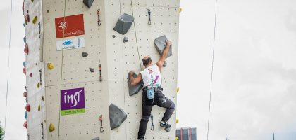 Italy shine on opening day of IFSC Paraclimbing Master event
