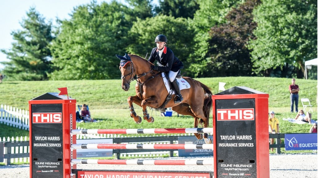 Great Britain lead team standings after day one of FEI Eventing Nations Cup event in Virginia