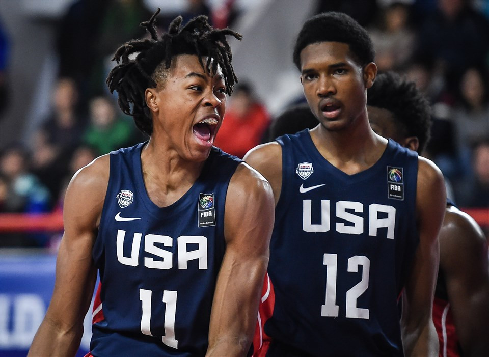 United States proved far too strong for Canada at the FIBA Under-17 World Cup in Argentina ©FIBA