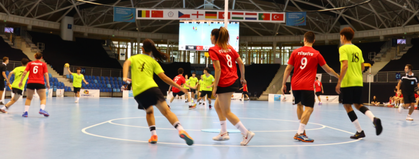 Hosts Hungary claim opening-day victory at IKF Under-21 World Korfball Championships