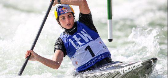 Fox blitzes to sixth successive ICF Canoe Slalom World Cup gold in Augsburg K1