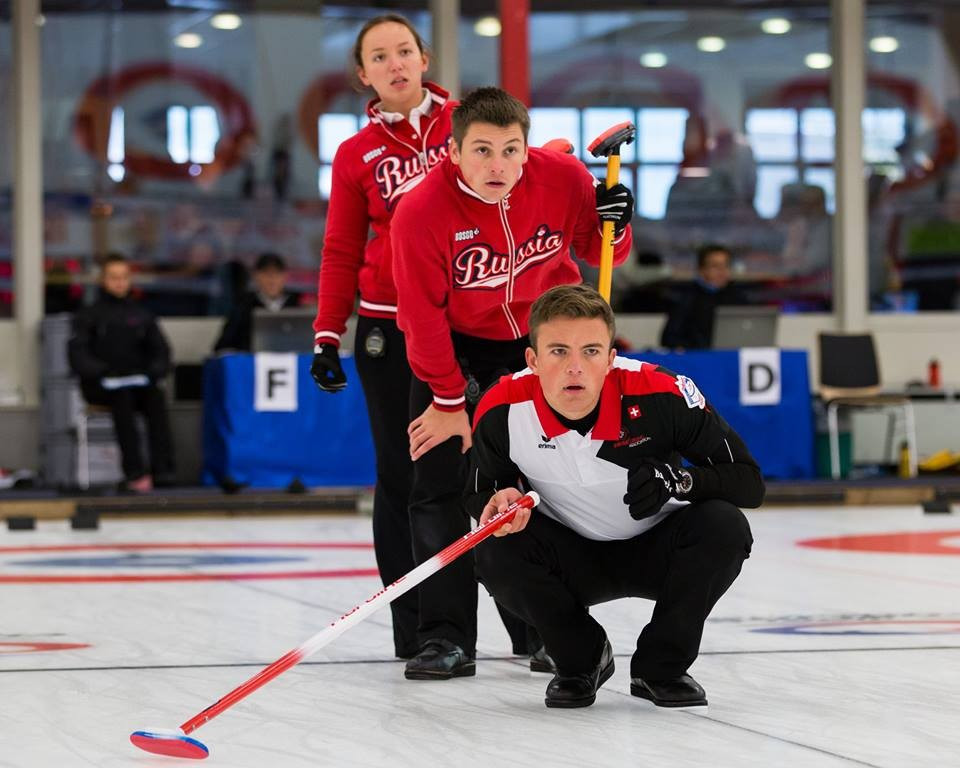 Germany, Sweden, Russia and United States reach World Mixed Curling Championship quarter-finals