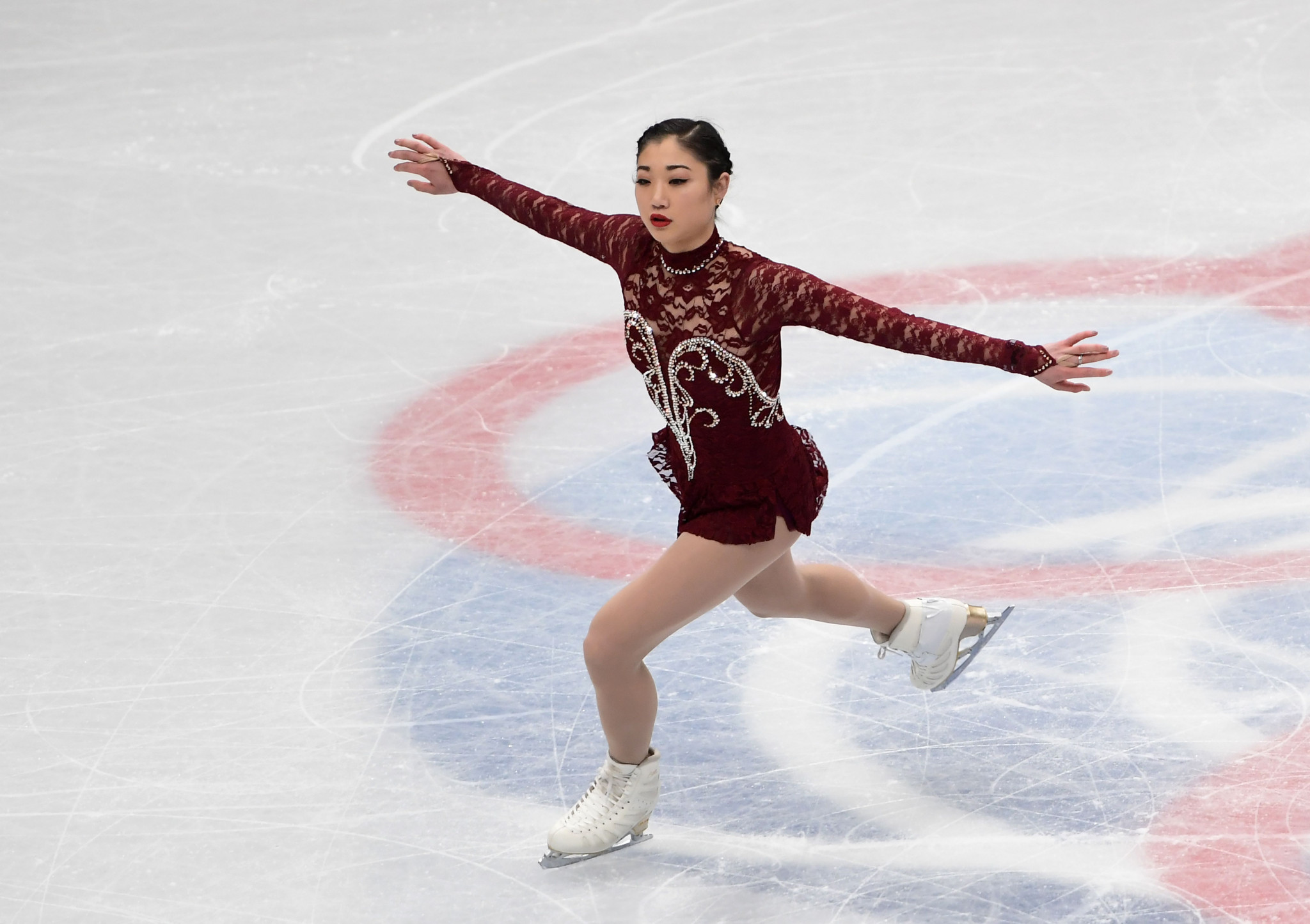 The United States' Mirai Nagasu has announced plans to take an indefinite break from competitive figure skating ©Getty Images