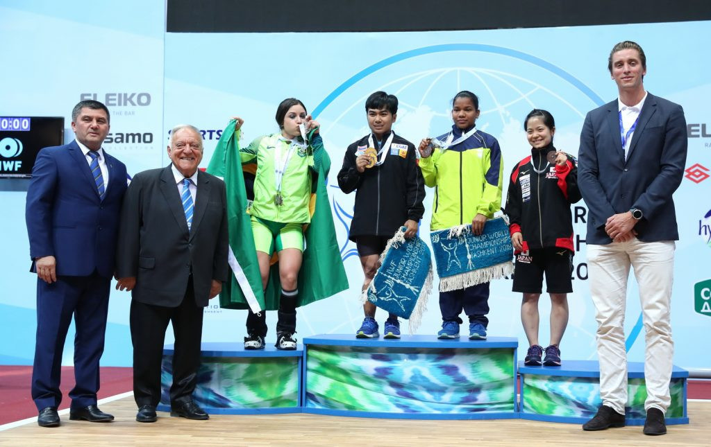 Thailand's Nanthawong claims first gold medals of IWF Junior World Championships
