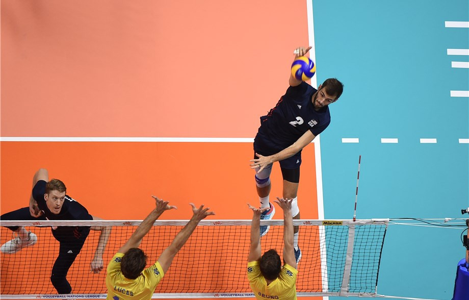 United States will host the Men's Volleyball Nations League Finals for the next three years ©FIVB
