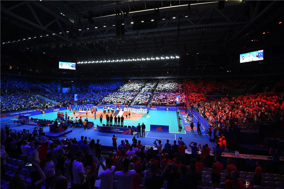 Lille played host the the inaugural edition of the men's event ©FIVB