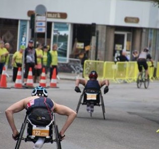 Paratriathletes get turn to shine at ITU World Multisports Championships in Denmark