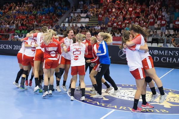 Hosts Hungary beat Norway to top group with perfect record in Women's Junior World Handball Championship
