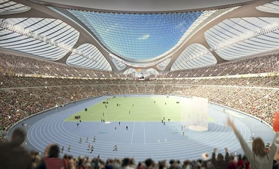 Zaha Hadid and Nikken Sekkei withdraw from Tokyo 2020 National Stadium competition