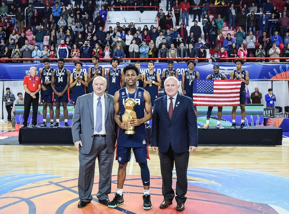 United States clinch fifth consecutive FIBA Under-17 World Cup title with victory over France