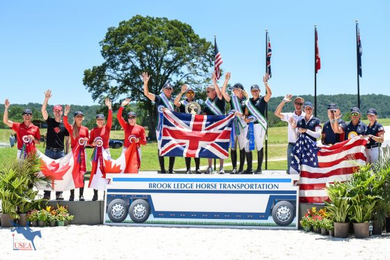 Great Britain secure victory at FEI Eventing Nations Cup in Virginia