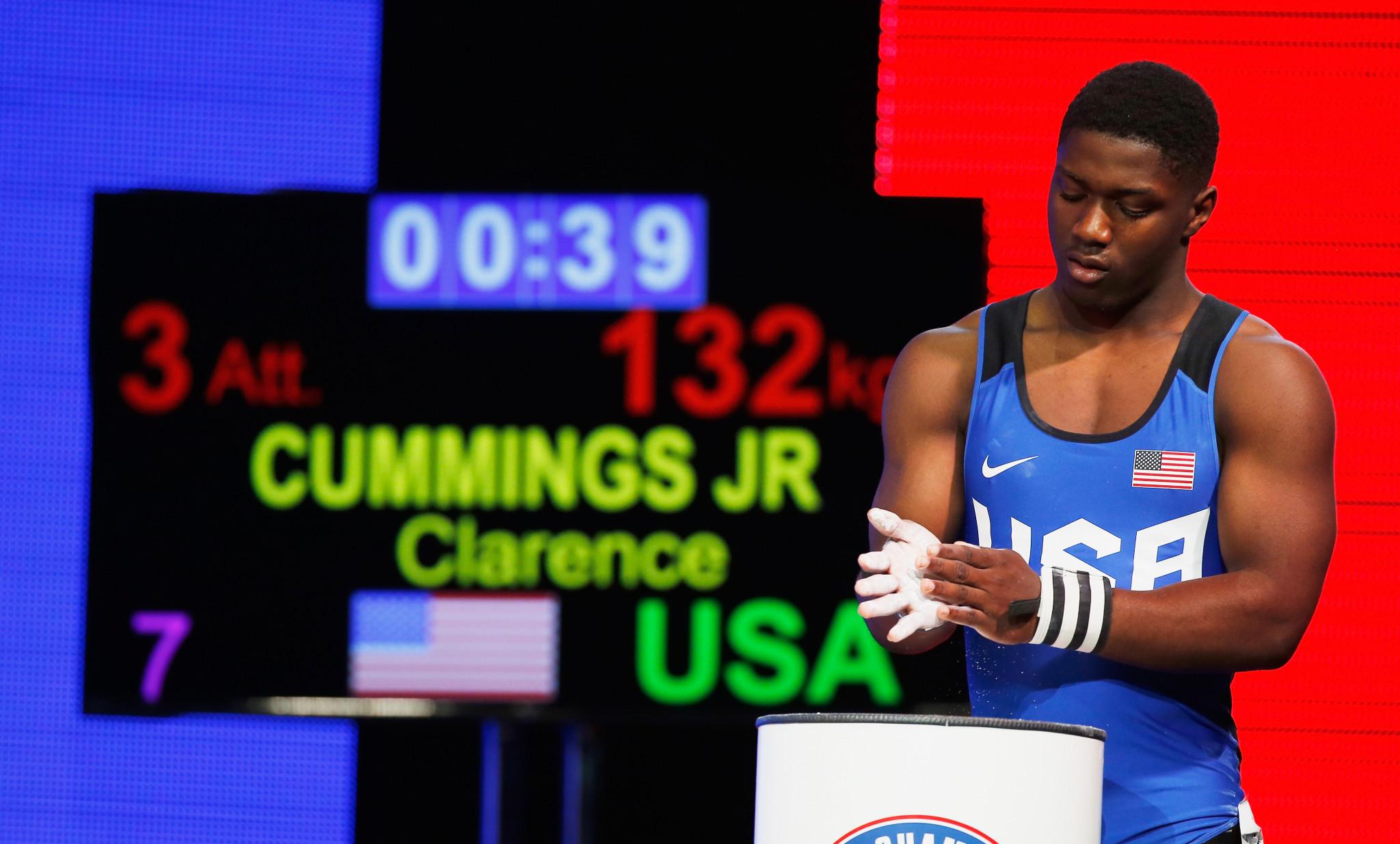 Cummings Jr earns third straight title at IWF Junior World Championships