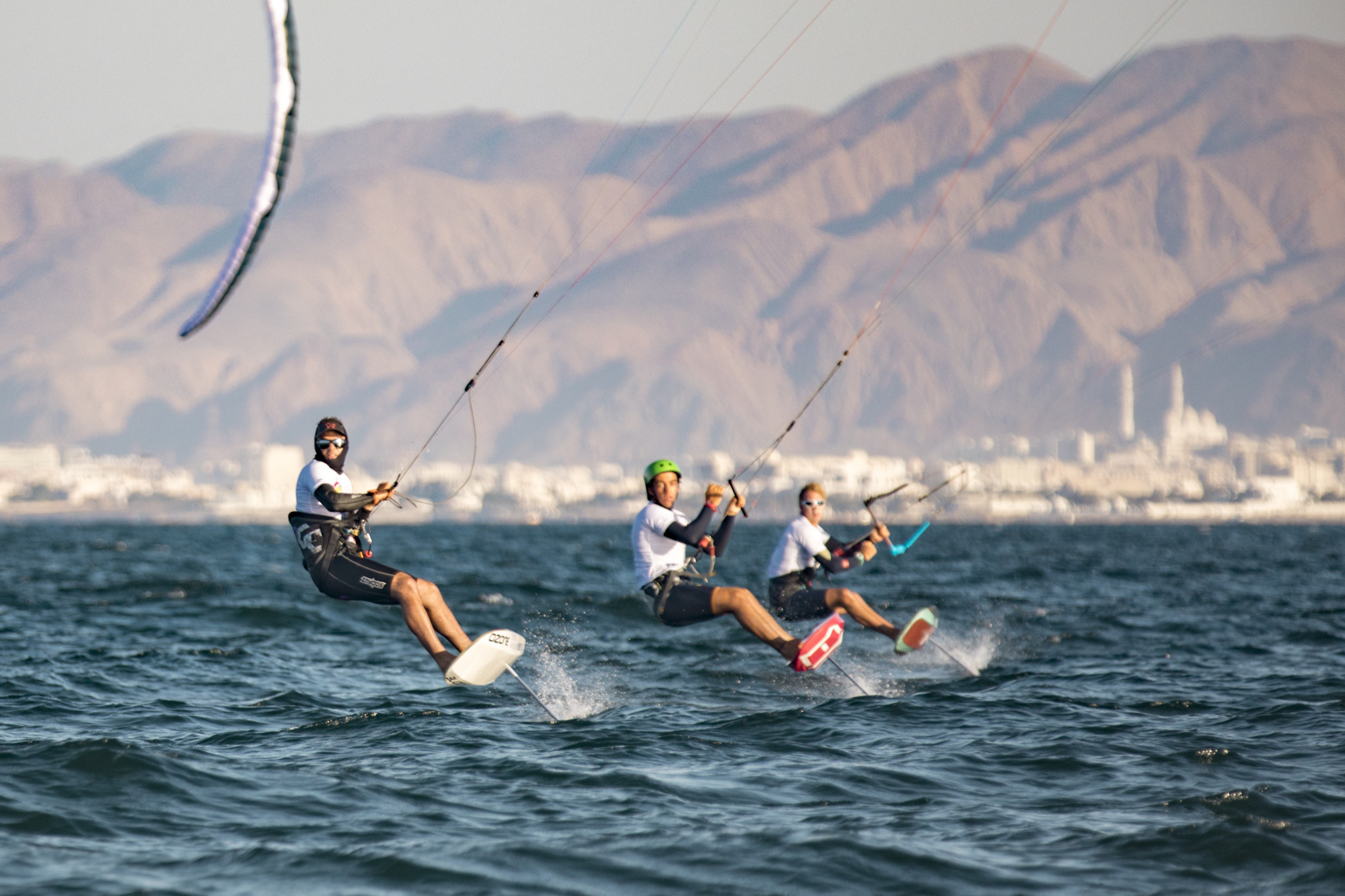 Racing halted amid strong winds at Formula Kite European Championships