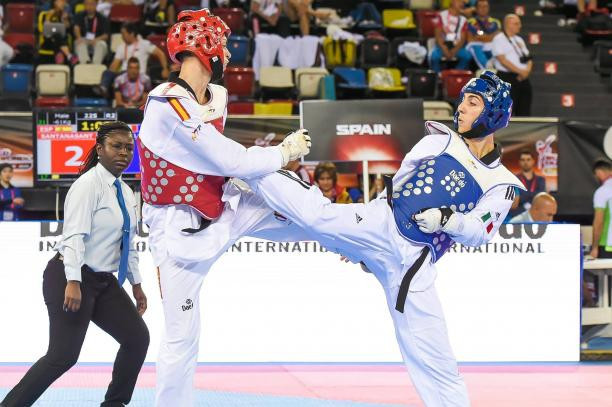 Bossolo rises up Para-taekwondo world rankings after success at European Open Championships