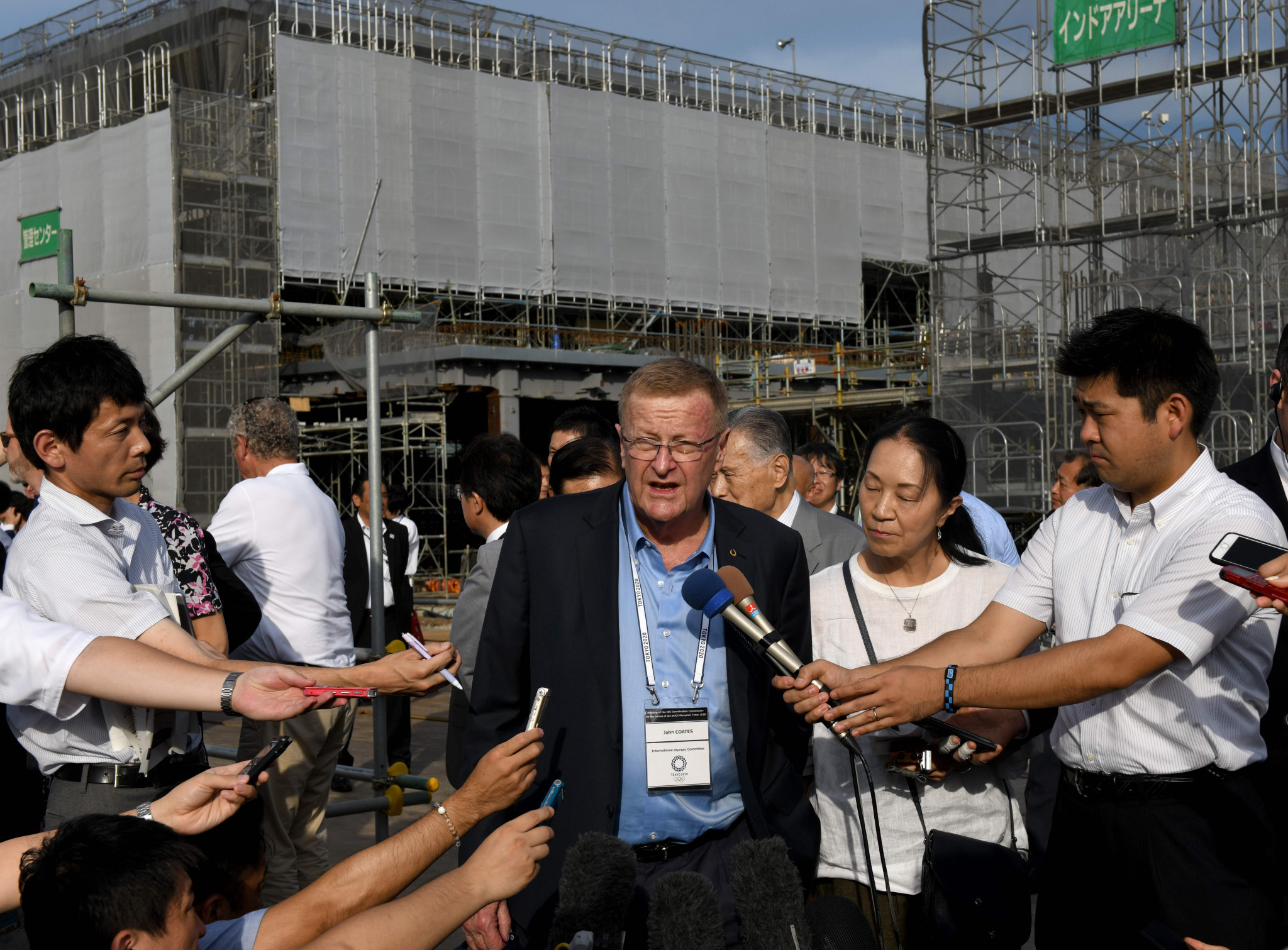 John Coates claimed the IOC were continuing to work with Tokyo 2020 to reduce costs ©Getty Images
