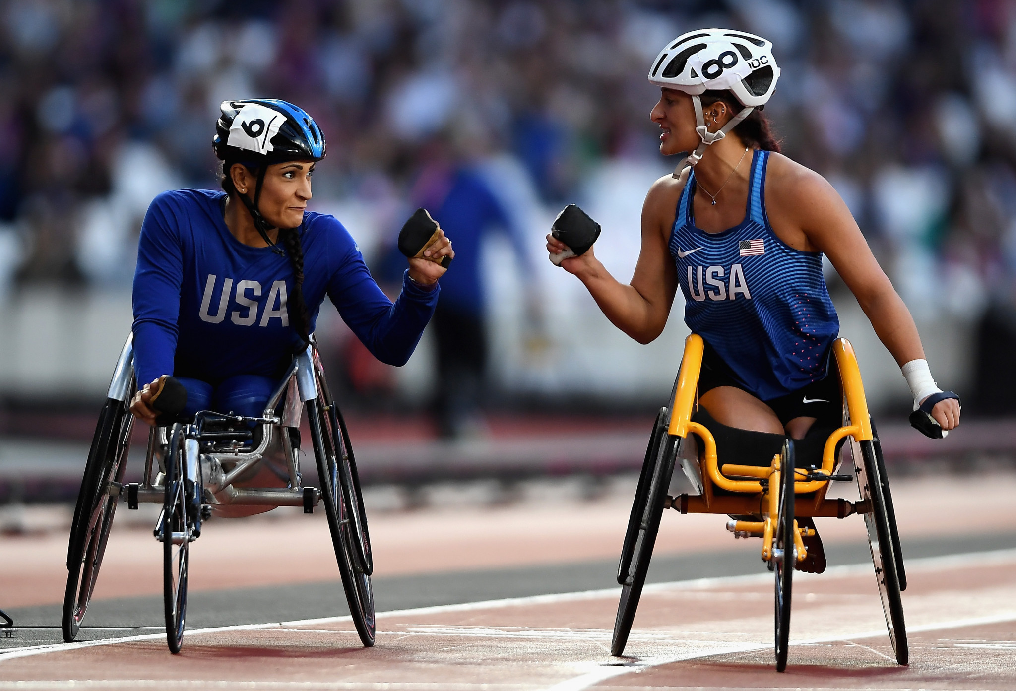Biographical information will be collected and updated by Gracenote sports editors at next year's World Para Athletics Championships in the build-up to Tokyo 2020 ©Getty Images
