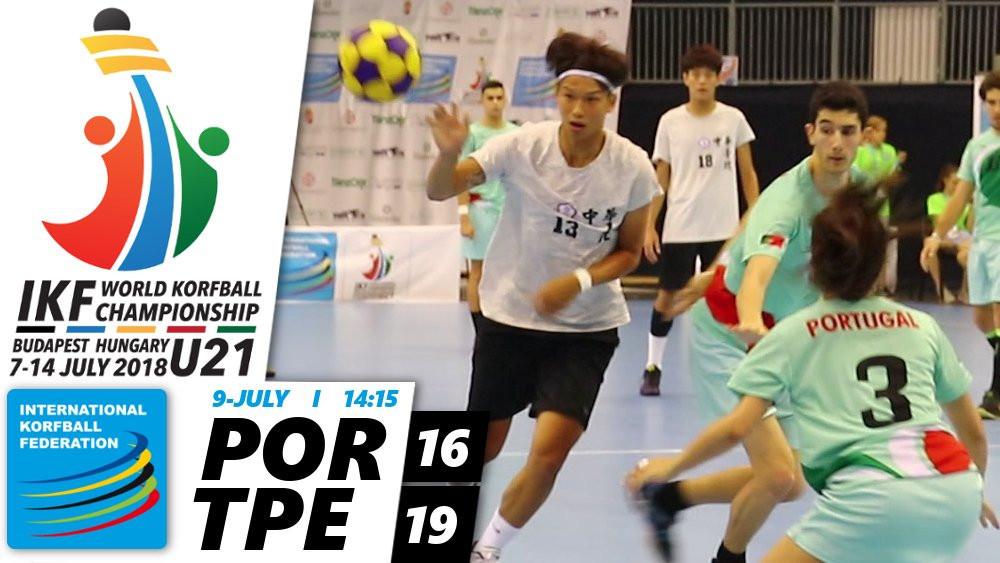 Chinese Taipei maintain 100 per cent start to Under-21 World Korfball Championships