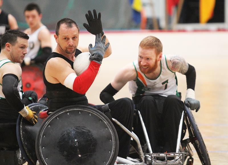 Irish wheelchair rugby player star handed two-year ban for intentional misrepresentation