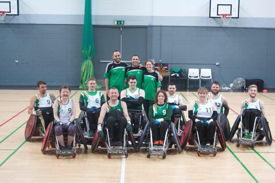 Captain Alan Lynch has been suspended from competing for the Irish wheelchair basketball team for two years ©Irish Wheelchair Rugby/Facebook