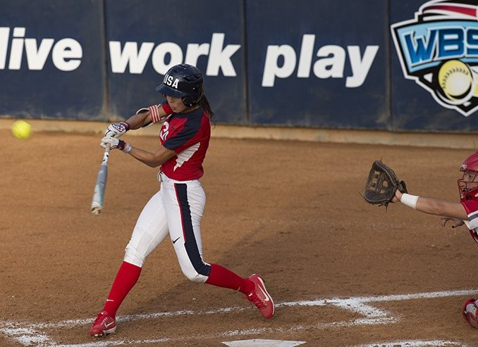 The United States began the inaugural USA Softball International Cup in dominant fashion ©USA Softball