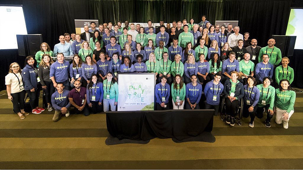 Participants attend the WADA Global Athlete Forum in Calgary ©WADA