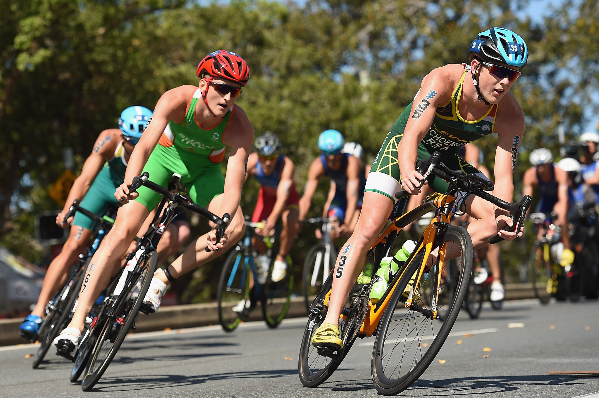 The World Triathlon Series will feature eight stops for its 11th campaign ©Getty Images